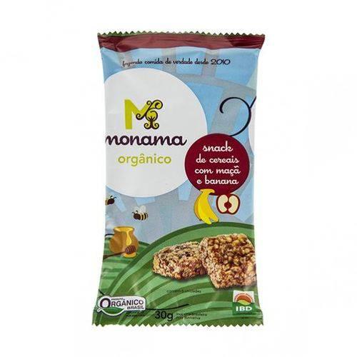 Snack Sem Glúten de Maçã e Banana 30g - Monama