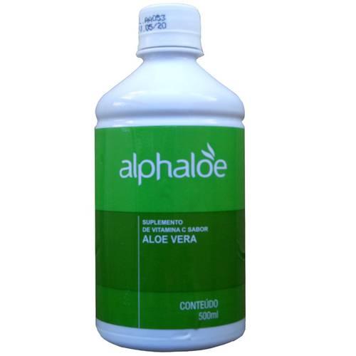 Suco de Babosa Puro com Vitamina C 500ml - Alphaloe