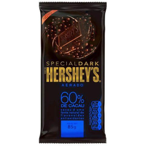 Tablete Chocolate Aerado Special Dark 60% Cacau 85g - Hersheys