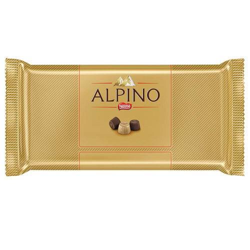 Tablete Chocolate Alpino 100g - Nestlé