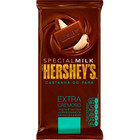 Tablete Chocolate Special Milk Castanha para 100g - Hersheys