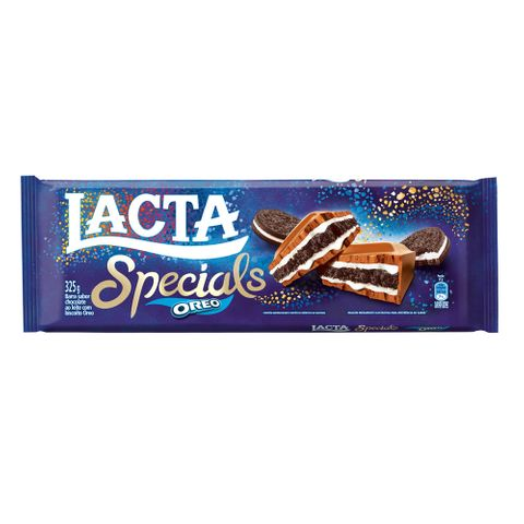 Tablete Chocolate Specials Oreo 325g - Lacta