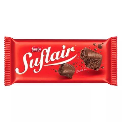 Tablete Chocolate Suflair 110g - Nestlé