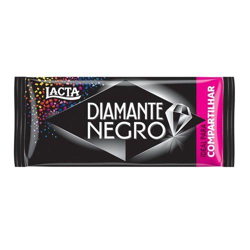 Tablete de Chocolate Diamante Negro 135g - Lacta