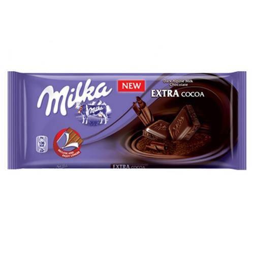 Tablete de Chocolate Extra Cocoa 100g - Milka