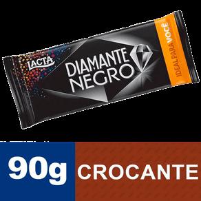 Tablete de Chocolate Lacta Diamante Negro 90g