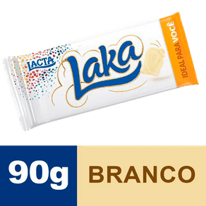 Tablete de Chocolate Lacta Laka 90g