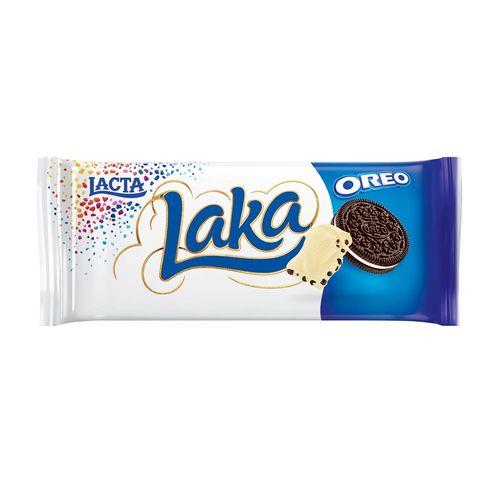 Tablete de Chocolate Laka Oreo 135g - Lacta