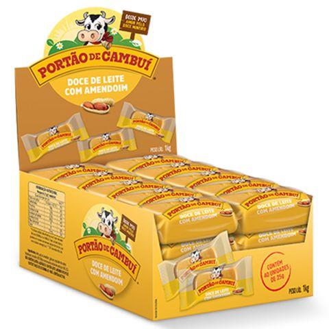 Tablete Doce de Leite com Amendoim C/40 - Portão de Cambuí