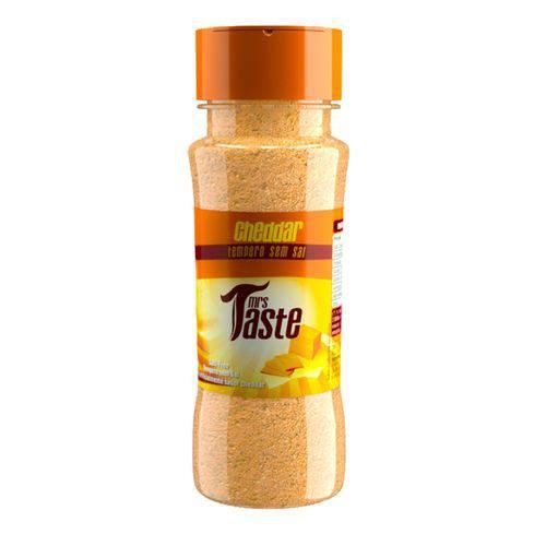 Tempero Zero Sódio Sabor Cheddar - 55g - Mrs Taste