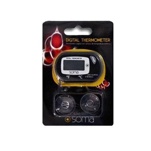 Termômetro Digital com Sensor Soma Tela LCD