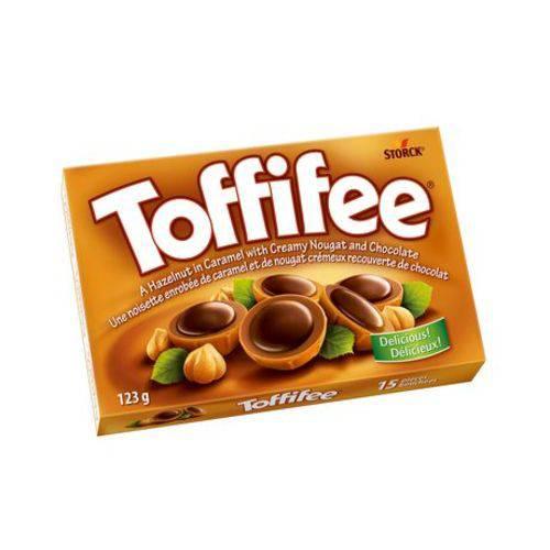 Toffifee Caramelo com Avelã e Chocolate