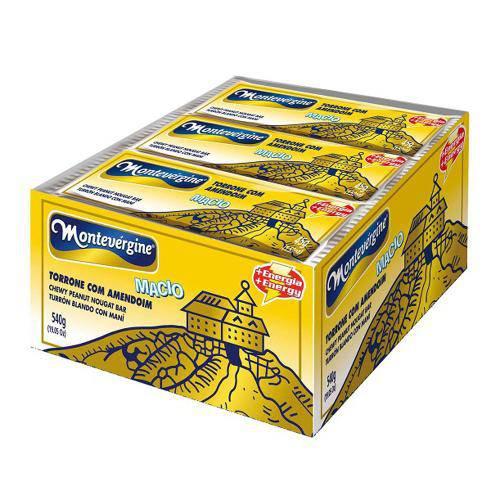 Torrone Amendoim 45g C/12 - Montevérgine