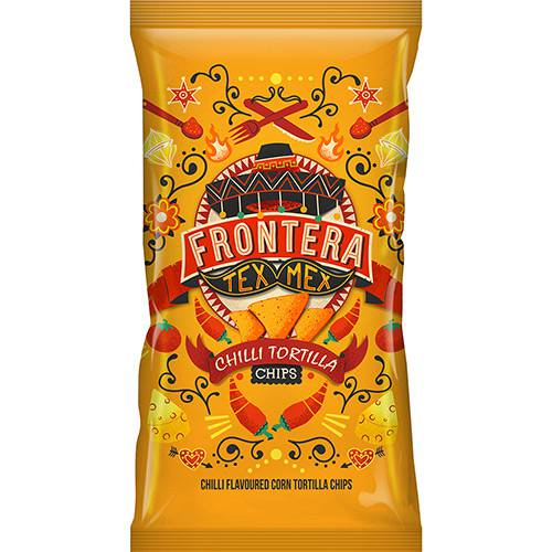 Tortilla Chips Picante Frontera 200g
