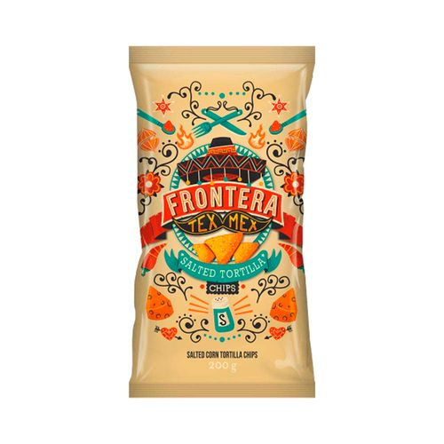 Tortilla Chips Sal - Frontera - 75g