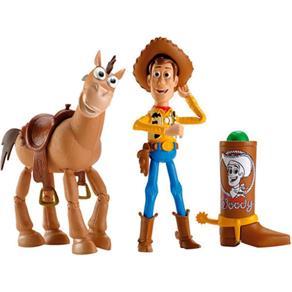 Toy Story Woody e Bala no Alvo - Mattel
