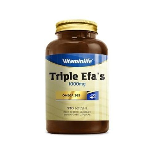 Triple Efas Omega 369 1000mg (120 Caps)