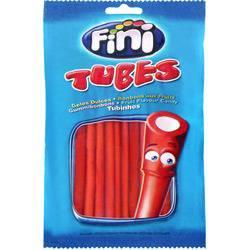Tubes Tubinhos Morango 80g - Fini