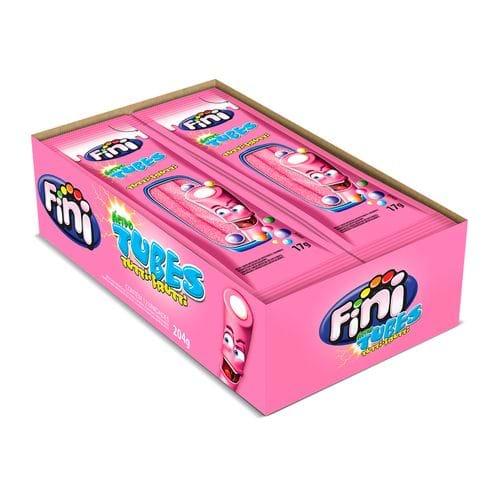 Tubes Tutti Frutti Azedinho - com 12 Unidades de 17g Cada