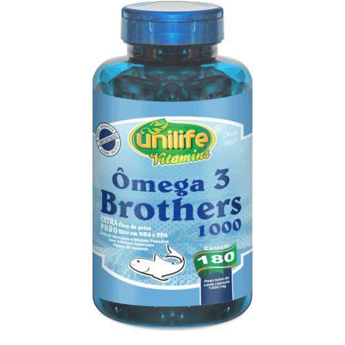 Unilife Omega 3 Brothers 180 Caps