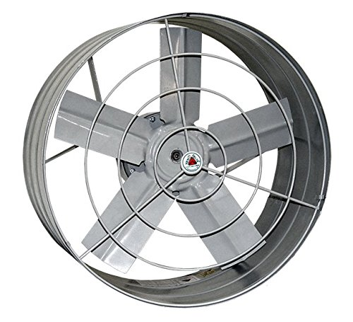 Venti-Delta Exaustor 40 Cm 220 V Axial Industrial, 804002, 200 W, Cinza