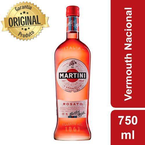 Vermouth Nacional Rosato Garrafa 750ml - Martini