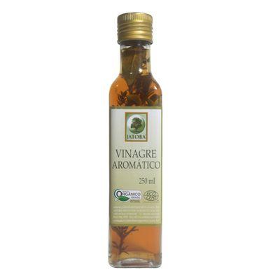 Vinagre Orgânico Aromático 250 Ml - Jatobá Orgânicos