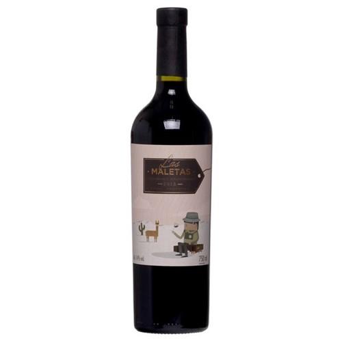 Vinho Argentino Las Maletas 750ml Tt Cab Sauv