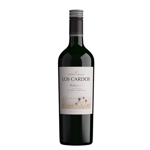 Vinho Argentino Los Cardos 750ml Malbec
