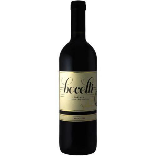 Vinho Bocelli Sangiovese Rosso Toscana IGT - Safra 2015