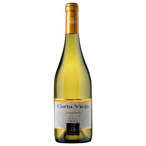 Vinho Branco Carta Vieja Clasico Chardonnay 2015 750ml