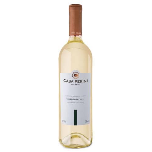 Vinho Branco Chardonnay Seco Fino 750ml Casa Perini