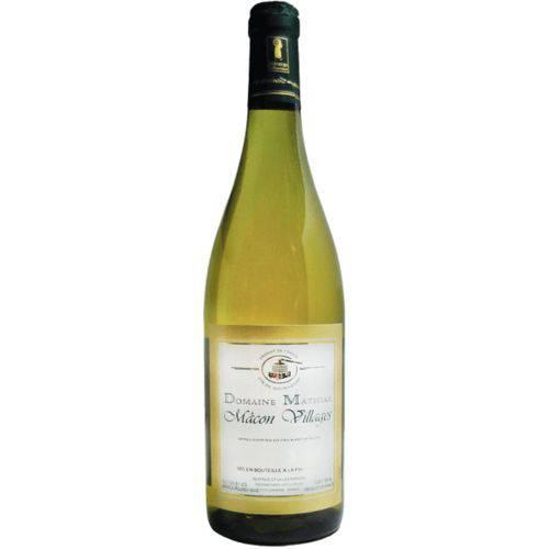 Vinho Branco Domaine Mathias Bourgogne Chardonnay