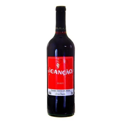 Vinho Brasileiro Cancao 750ml Tinto