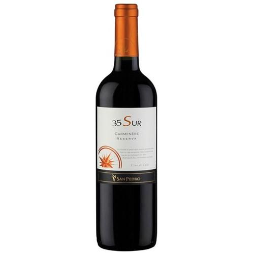 Vinho Chileno 35 Sur 750ml Carmenere Tinto