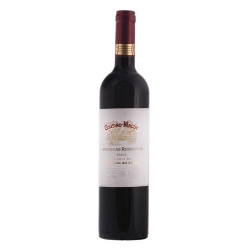 Vinho Chileno Cousino Antiguas 750ml Merlot