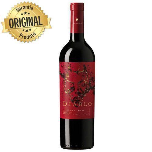 Vinho Chileno Diablo Dark Red Meio Seco Garrafa 750ml - Concha Y Toro