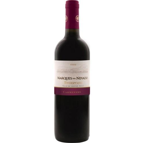 Vinho Chileno Marques Del Nevado Reservado 750ml Carmenere