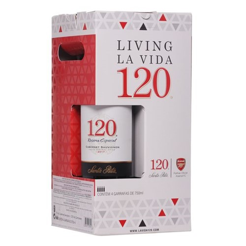 Vinho Chileno Santarita 750ml 2 Cabernet Mais 2 Carm