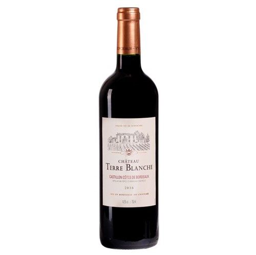 Vinho Frances Chart Blanche Castillon 750ml