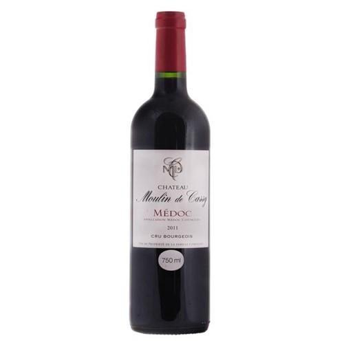 Vinho Frances Chateau Moulin Cassy 750ml Tinto Seco