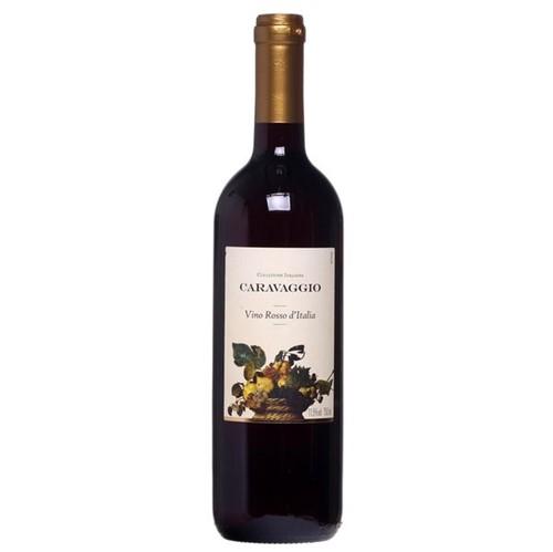 Vinho Ita Red Italian Wine Caravaggio 750ml