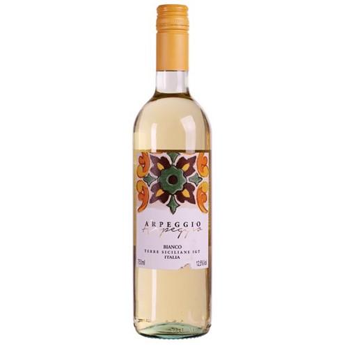 Vinho Italiano Arpeggio Bianco Igt Terre 750ml Siciliane