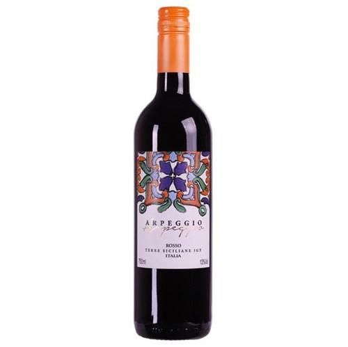 Vinho Italiano Arpeggio Rosso Igt Terre 750ml Siciliane