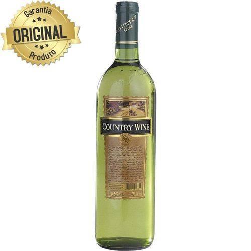 Vinho Nacional Branco Seco Garrafa 750ml - Country Wine