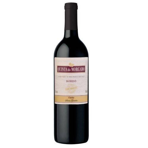 Vinho Quinta do Morgado Bordo Meio Seco Tinto 750ml