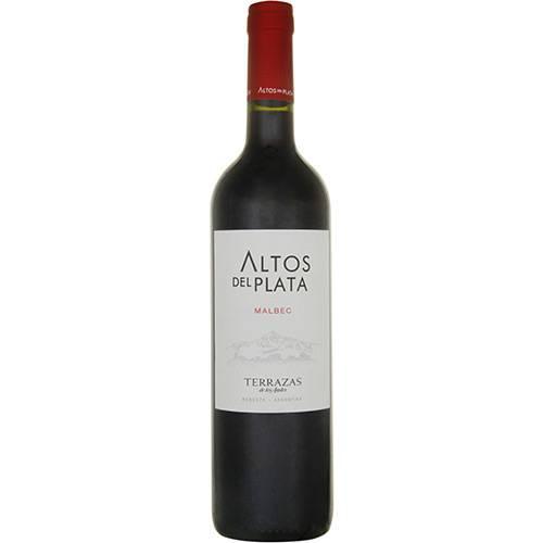 Vinho Tinto Argentino Altos Del Plata Malbec 750 Ml