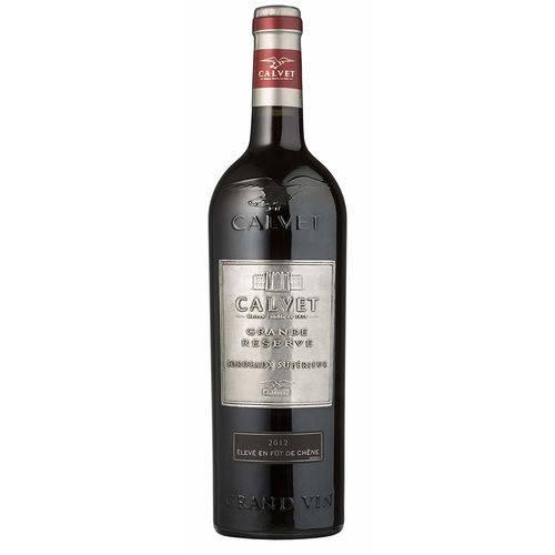 Vinho Tinto Francês Calvet Grande Reserve Bordeaux Supérieur