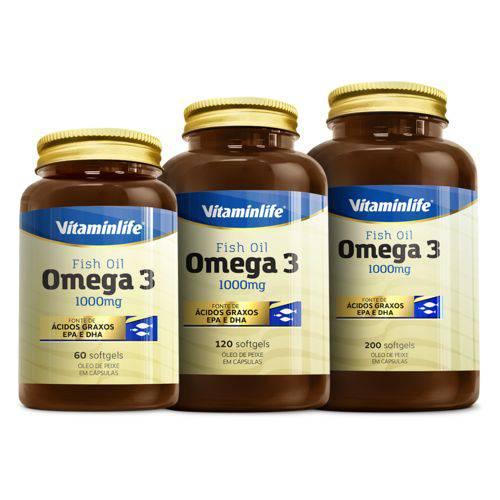 Vitaminlife Omega 3 1000mg 60 Caps