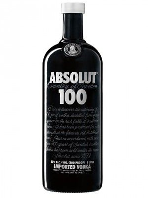Vodka Absolut 100 1 Litro